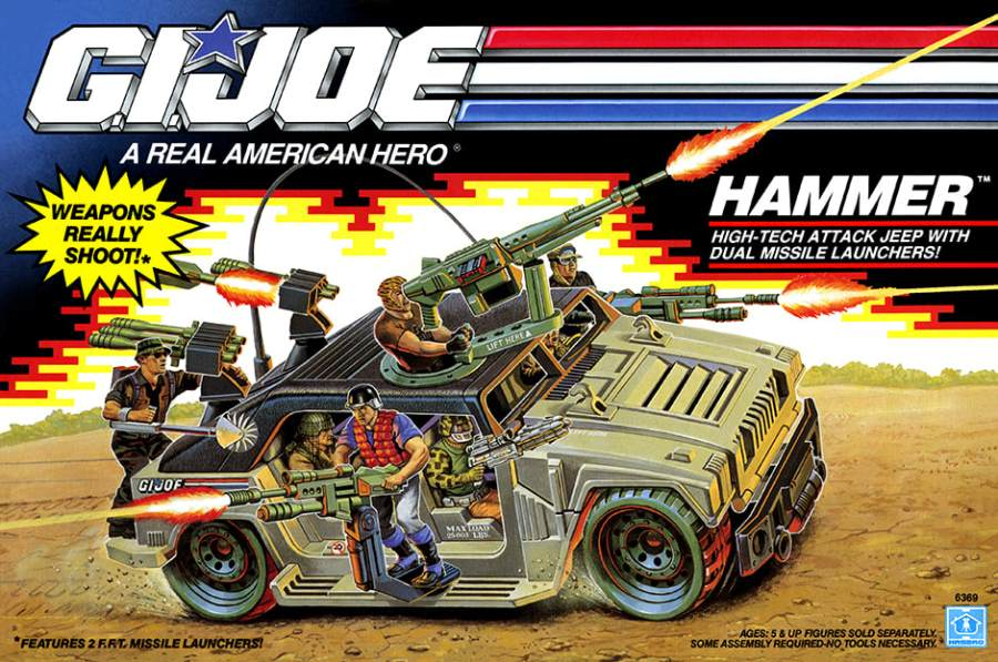 1990 G.I.Joe Hammer 3DJoes 01 - Surveillance Port