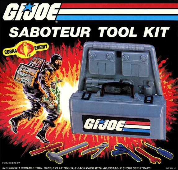 3DJoes G.I.Joe Saboteur Kit - Surveillance Port