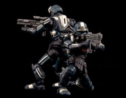 B2.Five Acid Rain World Abaddon Trooper Set - Surveillance Port (9)