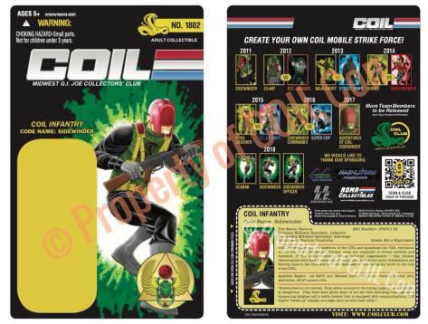 Coil Con Scarab Strikes Sidewinder Card - Surveillance Port