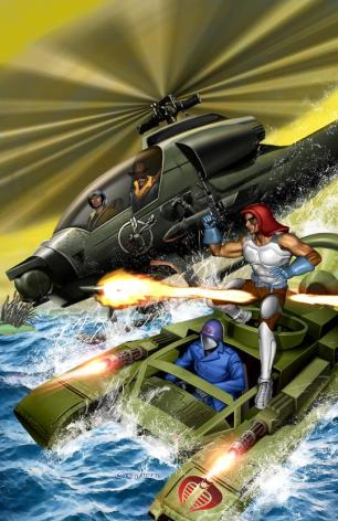 G.I. JOE - Wild Bill vs Zartan - Surveillance Port