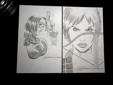 Greg Horn Art GI Joe Sketches 02 - Surveillance Port