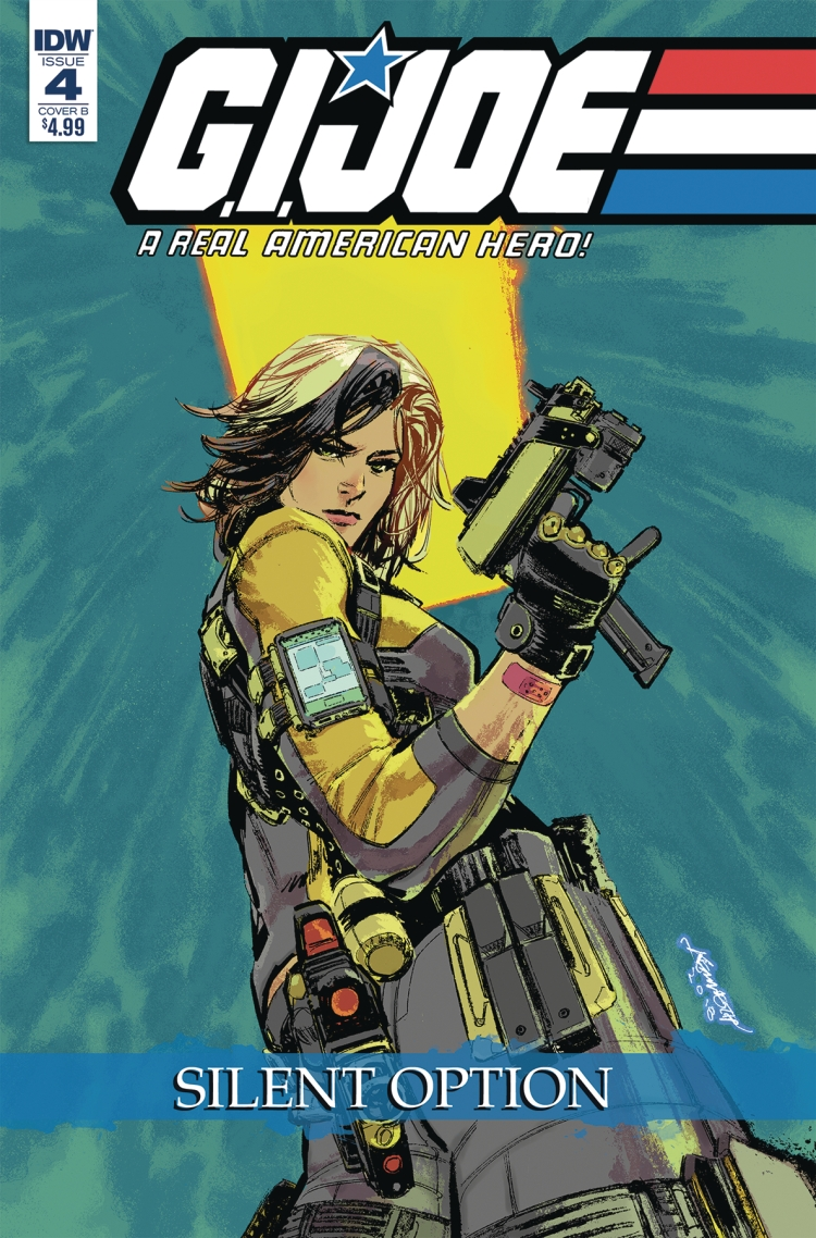 IDW Publishing GI Joe Silent Strike Cover B - Surveillance Port
