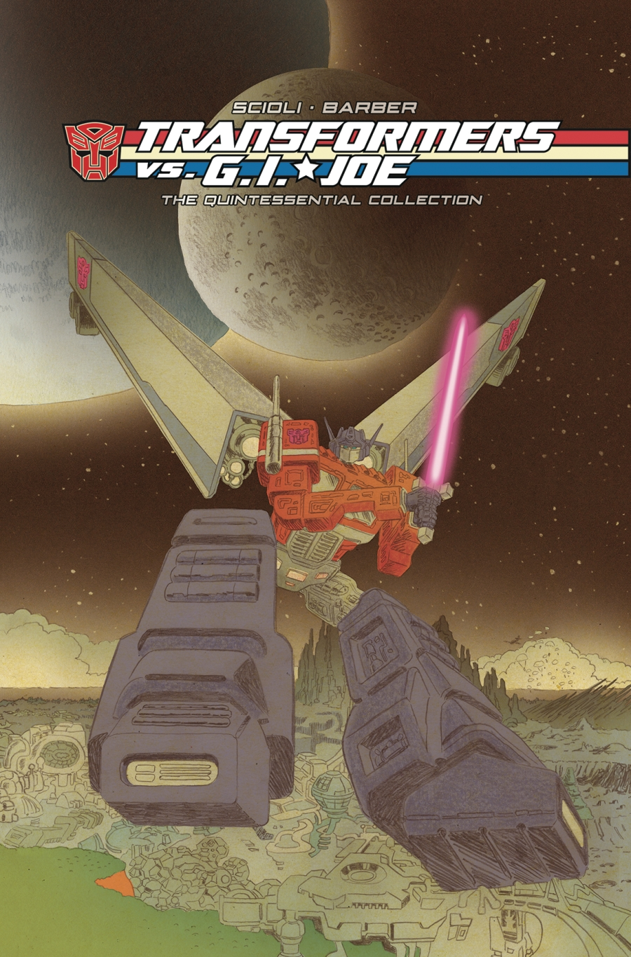 IDW Publishing Transformers vs GI Joe Quintessential Collection - Surveillance Port