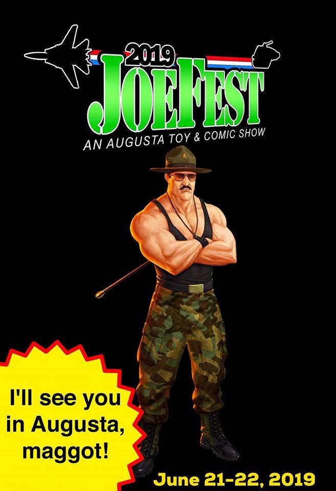 JoeFest Sgt Slaughter Poster - Surveillance Port