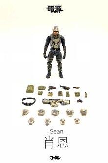 Joy Toy Dark Source 124 Scale Hero Sean 04 - Surveillance Port