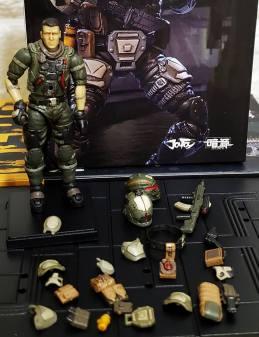Joy Toy Dark Source 124 Scale Hero Series Open Box - Surveillance Port