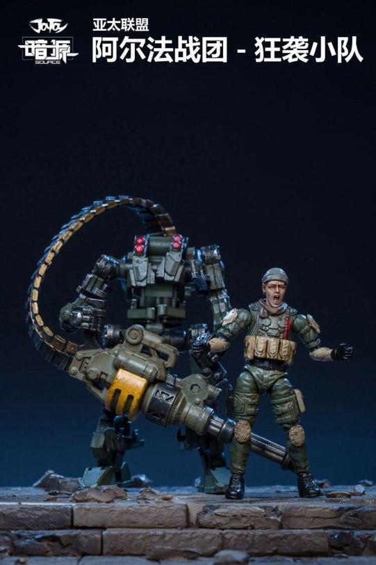 JoyToy Dark Source 124 Scale Alpha Assault Team Exo-Suit - Surveillance Port (02)