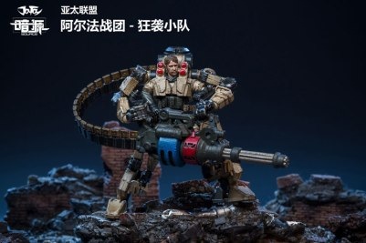JoyToy Dark Source 124 Scale Alpha Assault Team Exo-Suit - Surveillance Port (10)