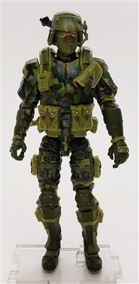 MGR 06 DELUXE MTF Male Trooper Olive Green Camo Ambush-Ops - Surveillance Port