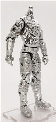 MGR 07 MTF Male Trooper Body WITHOUT Head SILVER Kronos-Ops Cloth Leg - Surveillance Port