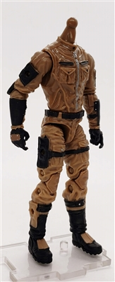 MGR 09 MTF Male Trooper Body WITHOUT Head BROWN Terra-Ops CLOTH Legs - Surveillance Port