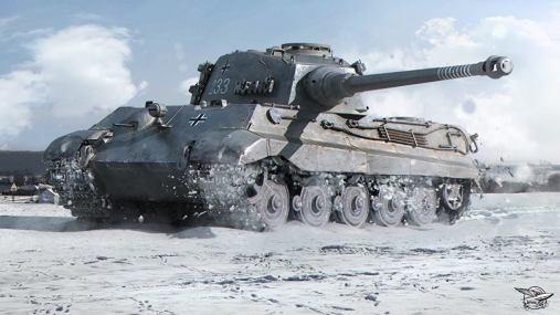 Pindar Toys 118 scale King Tiger Tank 01 - Surveillance Port