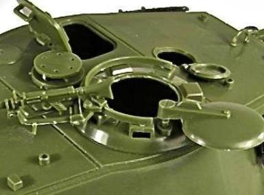 Pindar Toys 118 scale King Tiger Tank 02 - Surveillance Port