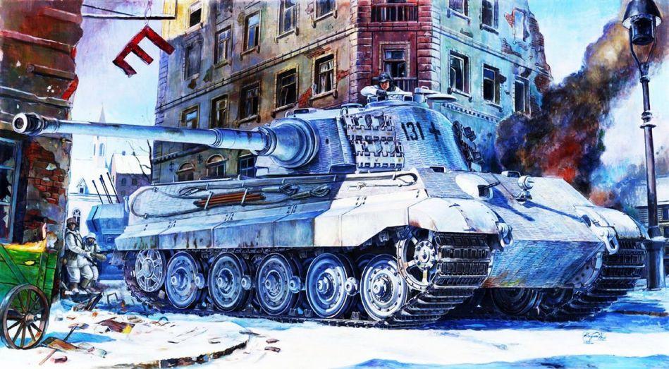 Pindar Toys 118 scale King Tiger Tank 04 - Surveillance Port