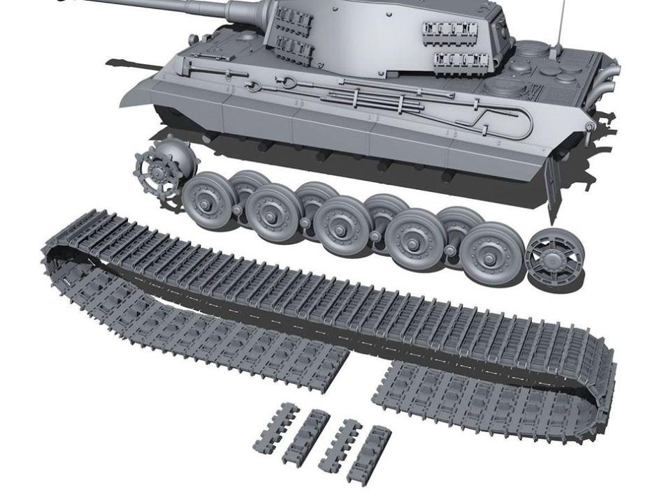Pindar Toys 118 scale King Tiger Tank 06 - Surveillance Port