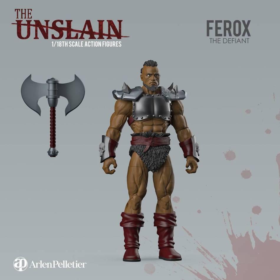 The Unslain Ferox the Defiant - Surveillance Port