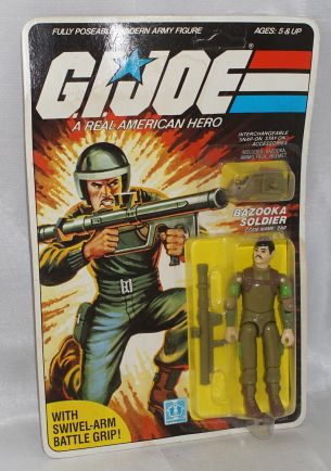 1984 G.I.Joe Zap Ulternate Head Sculpt - Surveillance Port (1)
