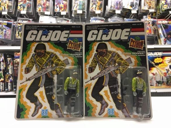 3D Joes G.I.Joe Cobra Python Patrol Python Trooper Variant - Surveillance Port 01
