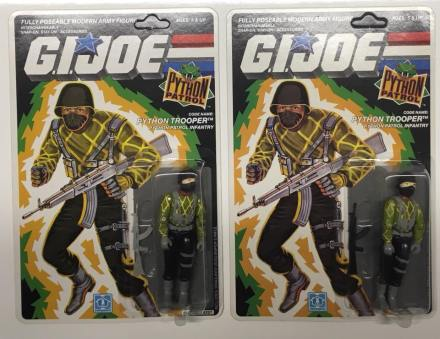3D Joes G.I.Joe Cobra Python Patrol Python Trooper Variant - Surveillance Port 04