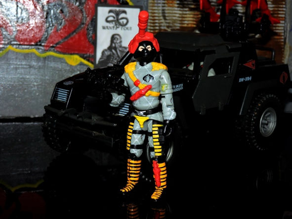 Black Major Toys Python Patrol Night Viper Stinger - Surveillance Port (00)