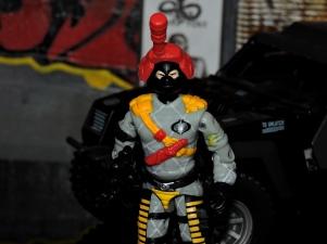 Black Major Toys Python Patrol Night Viper Stinger - Surveillance Port (01)
