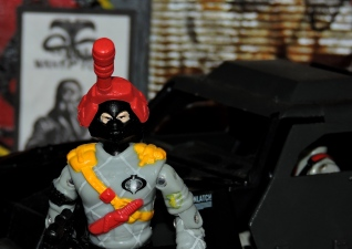 Black Major Toys Python Patrol Night Viper Stinger - Surveillance Port (02)