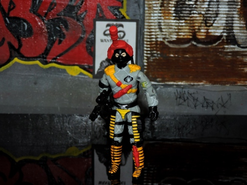 Black Major Toys Python Patrol Night Viper Stinger - Surveillance Port (03)