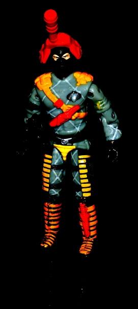 Black Major Toys Python Patrol Night Viper Stinger - Surveillance Port (06)