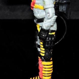 Black Major Toys Python Patrol Night Viper Stinger - Surveillance Port (09)