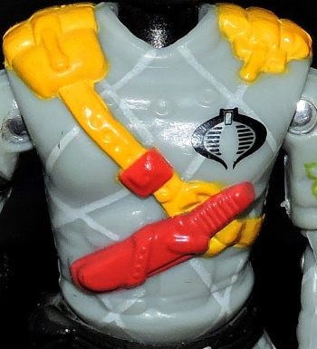 Black Major Toys Python Patrol Night Viper Stinger - Surveillance Port (15)