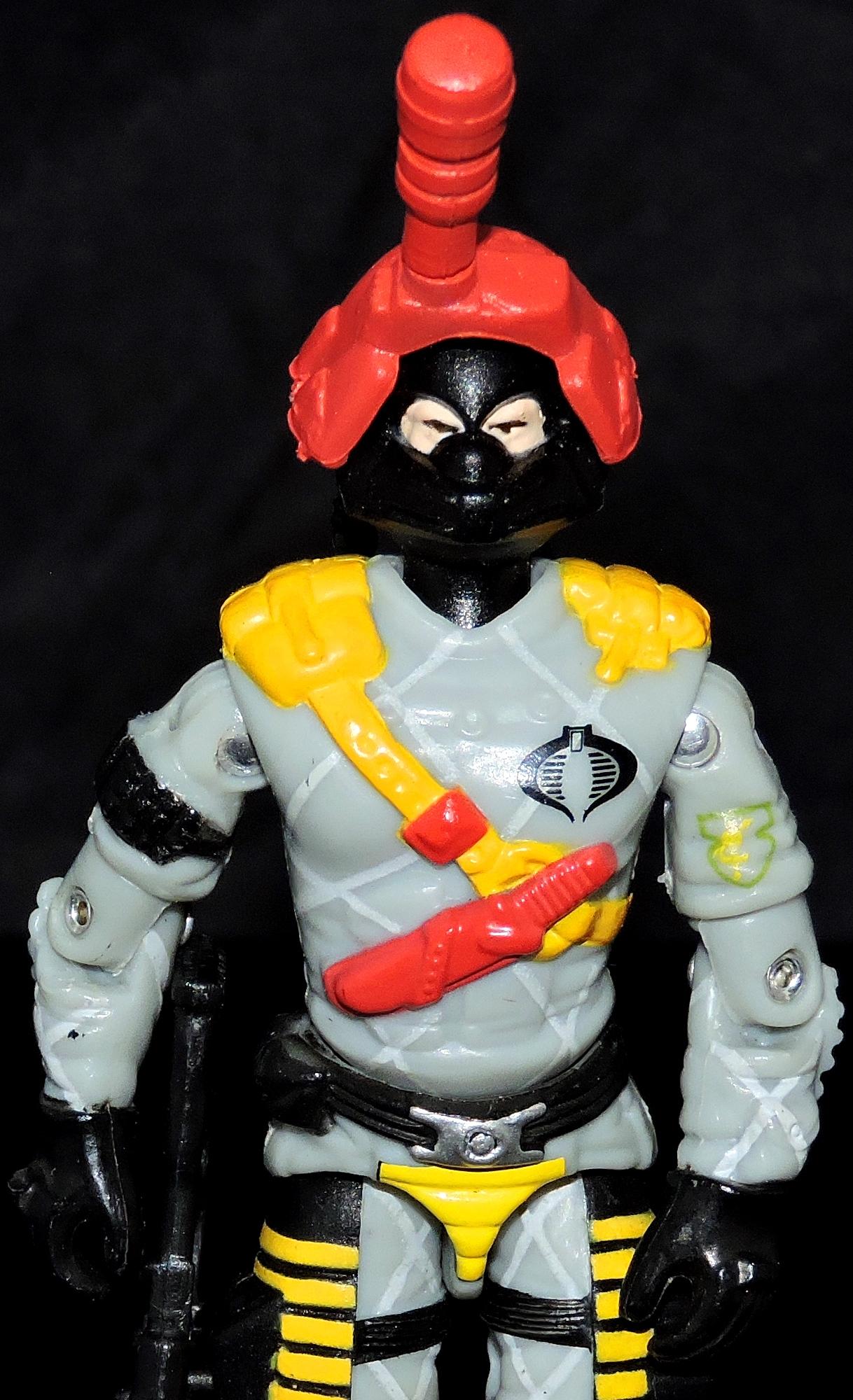 Gi Joe Black Major Python Patrol Night Viper// Ninja