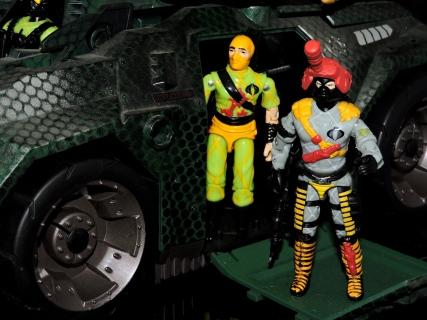 Black Major Toys Python Patrol Night Viper Stinger - Surveillance Port (20)