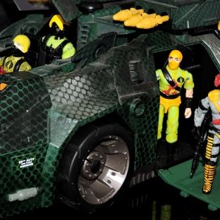 Black Major Toys Python Patrol Night Viper Stinger - Surveillance Port (21)