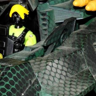 Black Major Toys Python Patrol Night Viper Stinger - Surveillance Port (22)