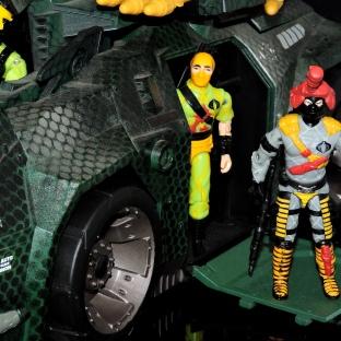 Black Major Toys Python Patrol Night Viper Stinger - Surveillance Port (23)
