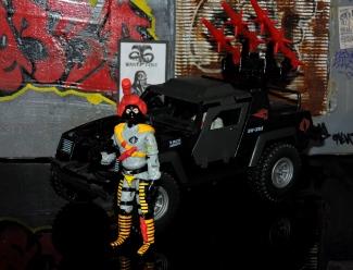 Black Major Toys Python Patrol Night Viper Stinger - Surveillance Port (24)
