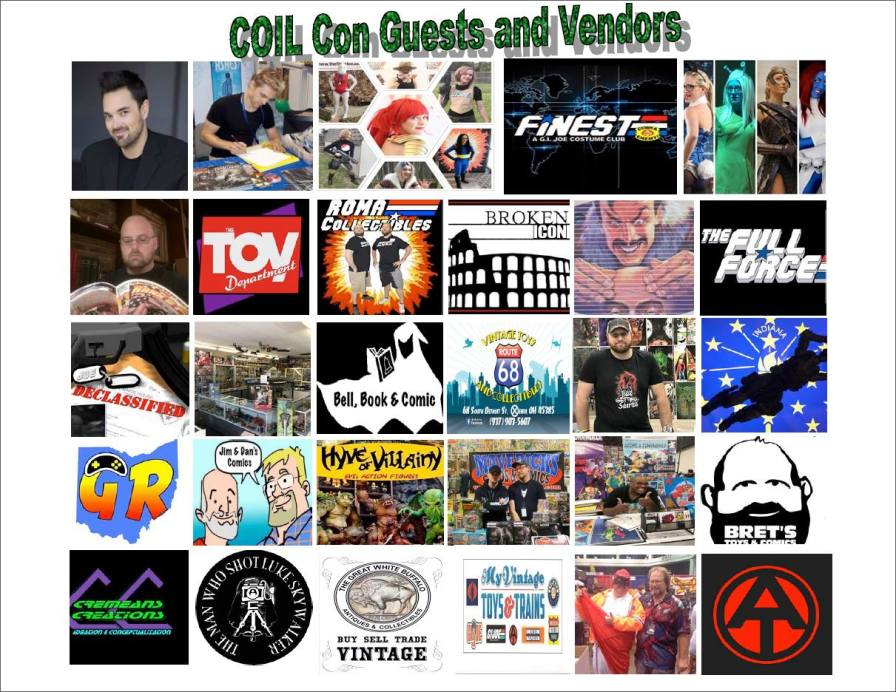 Coil Con Guests and Vendors - Surveillance Port