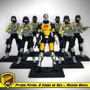 Custom Modern Era GI Joe Mission Brazil III by Just Ian Customs - Surveillance Port 18