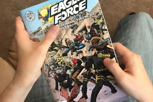 Eagle Force Handbook vol 101 Sample - Surveillance Port (01)