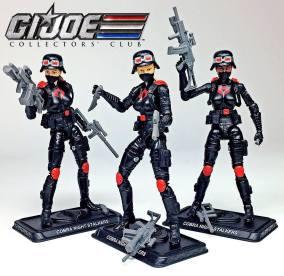 G.I.Joe Collectors Club Cobra Night Stalkers 3 Pack - Surveillance Port (1)