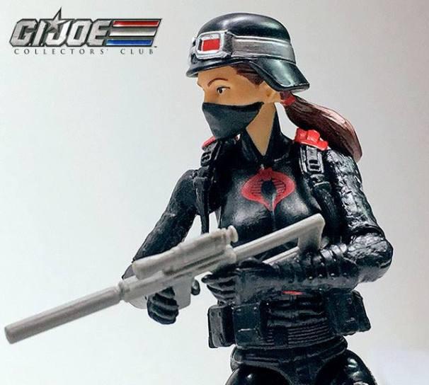 G.I.Joe Collectors Club Cobra Night Stalkers 3 Pack - Surveillance Port (3)