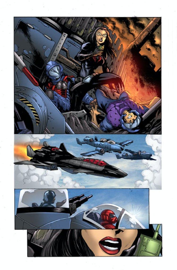 GI Joe ARAH 258 Cobras Venom pt 3 - Surveillance Port