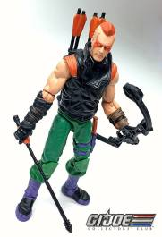 GIJCC Ninja Force Zartan with Cycle - Surveillance Port 01