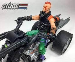 GIJCC Ninja Force Zartan with Cycle - Surveillance Port 02