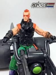 GIJCC Ninja Force Zartan with Cycle - Surveillance Port 03