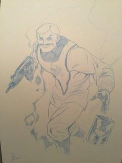 Mark Sobol Half the Battle vol 2 Art - Surveillance Port (01)