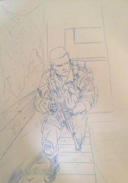 Mark Sobol Half the Battle vol 2 Art - Surveillance Port (10)