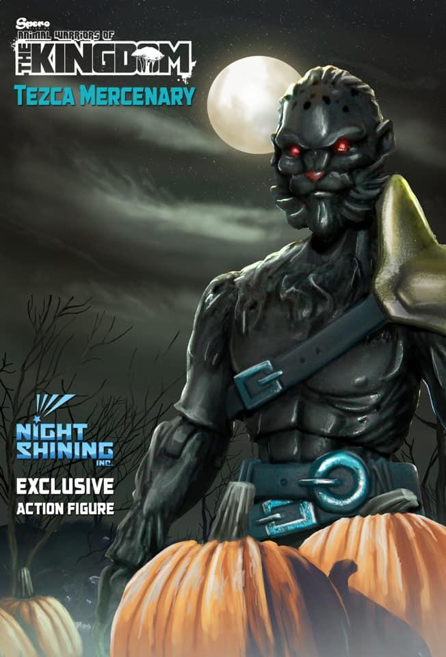 Night Shining Exclusive AWOK Tezca Mercenary - Surveillance Port