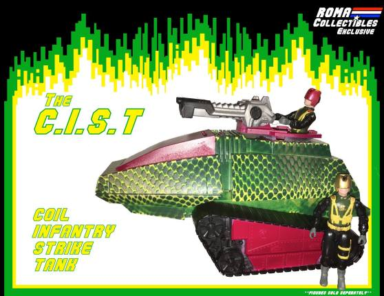 ROMA Collectibles Coil Con C.I.S.T. - Surveillance Port